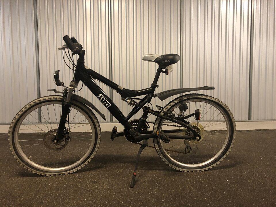 andet mærke, anden mountainbike, 8 gear