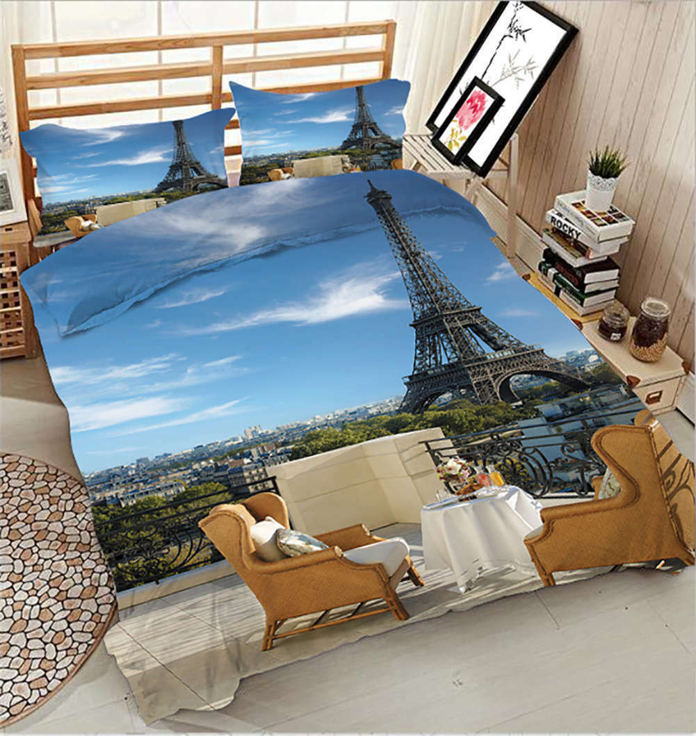 Agreeable Afternoon 3D Printing Duvet Quilt Doona Covers Pillow Case Bedding Set