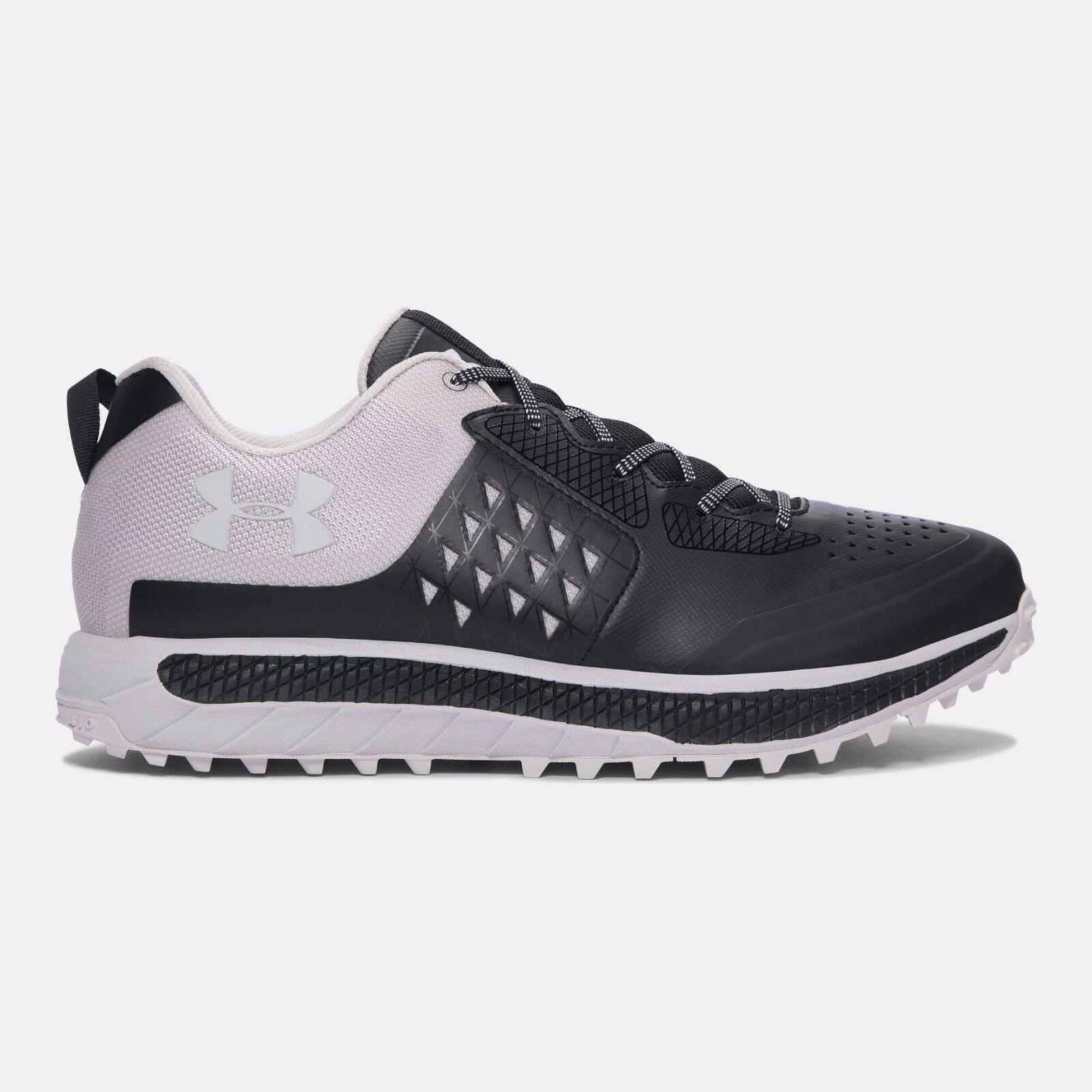 Under Armour Men's Horizon STR Running Shoes Black/Gray Matter(1288967-003)