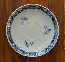 Minestre sotto tazza piatto inferiore ALUMINIA Tranquebar Royal Copenhagen Fiore Blu