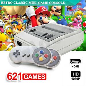621 in 1 Retro Classic Mini Game Console TV HDMI with 2 Controler Gamepad