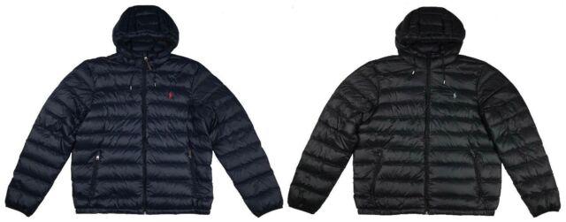 Mens Filled Coat Polo Ralph 2xl Puffer Jacket Lightweight S Lauren Packable Down QBWedrCxo