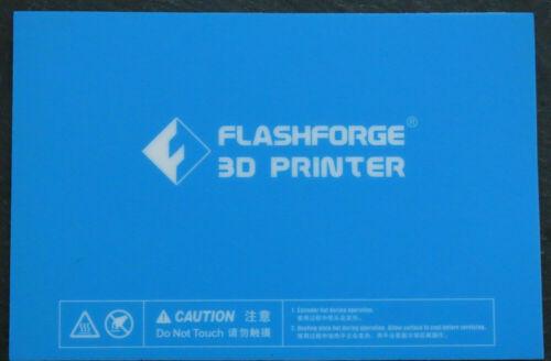 Flashforge Creator Pro Dreamer  Inventor Replicator Build Plate Platform Sticker
