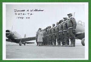 Donald A Williams 2 Weltkrieg Tuskegee Flugzeugführer Unterzeichnet 4x6 Warm Und Winddicht Automobilia Kataloge & Prospekte