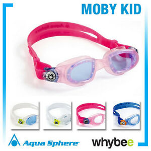 d948e5099f3 Image is loading AQUA-SPHERE-MOBY-KID-YOUTH-SWIMMING-GOGGLES-AND-