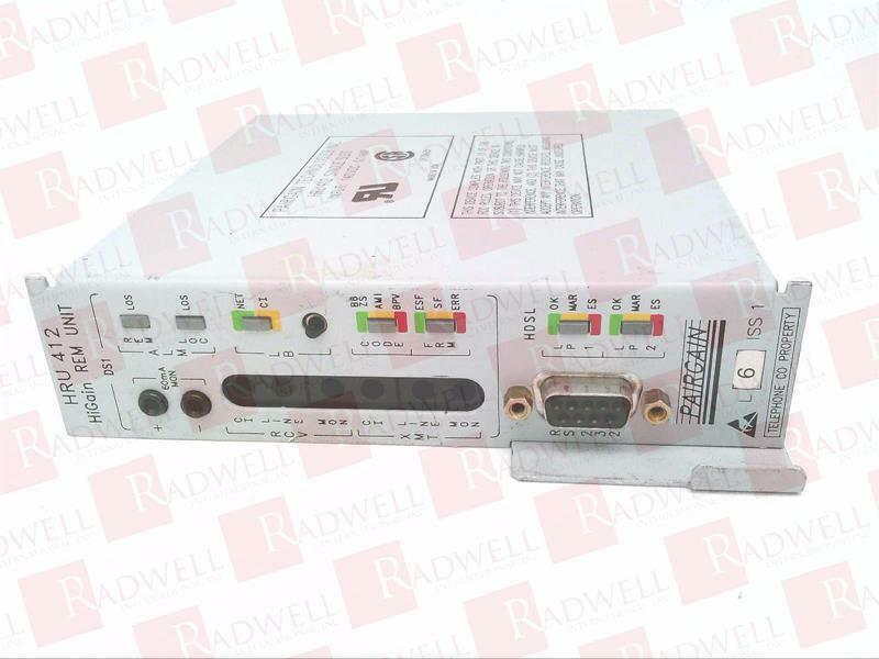 PAIRGAIN TECHNOLOGIES HRU 412   HRU412 (USED TESTED CLEANED)
