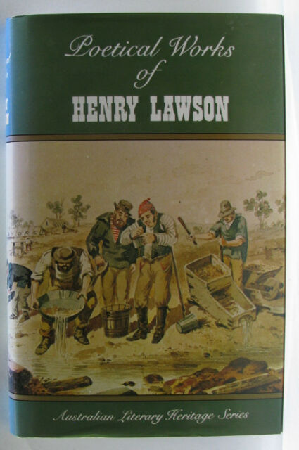 #ST6,, Henry Lawson POETICAL WORKS OF HENRY LAWSON, HC GC