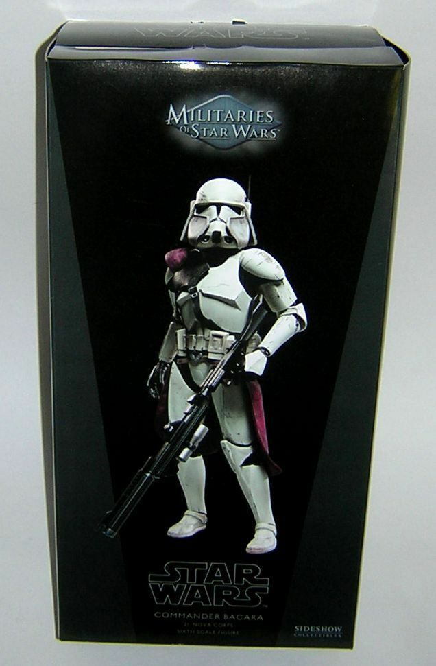 Star Wars Sideshow Collectables 1 6 12 inch Scale Commander Bacara