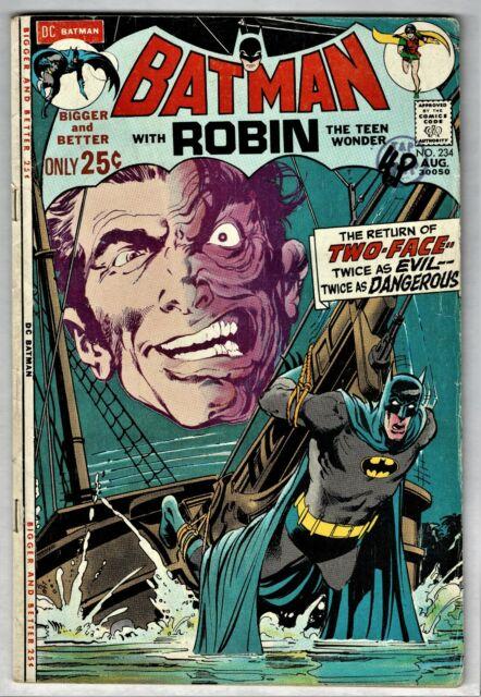 Batman 234 Aug 1971 Dc For Sale Online Ebay