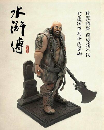 Lu Zhishen Figure WATER MARGIN Outlaws of Marsh NINE TATTOOED DRAGONS Suo Chao