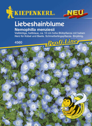 Liebeshainblume pour bac et Parterres Papillon Plante environ 75 graines 4560