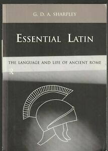 ESSENTIAL-LATIN-by-Sharpley-The-Language-amp-Life-of-Ancient-Rome-2000-NEW