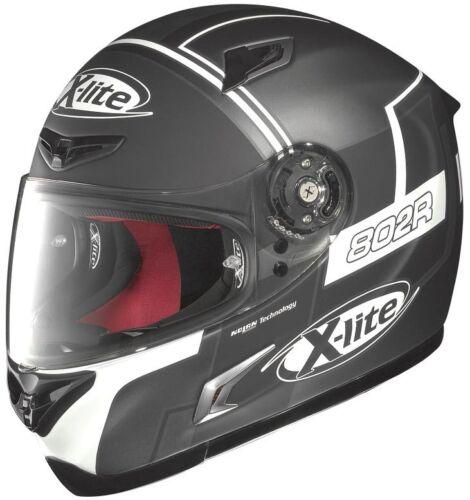 White Motorcycle Helmet XS X-Lite X-802R Rush Full Face Lava Gray