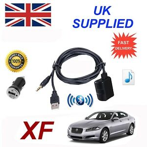 For-Jaguar-XF-Bluetooth-Music-Streaming-Module-includes-power-adapter-USB-amp-AUX