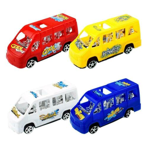 Baby Bus Toy Multicolor Seat Slide Back School Model Toys for Child Gifts UK