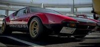 1970-1991 Detomaso Pantera Gt4 Side Decal Kit Group 4 De Tomaso