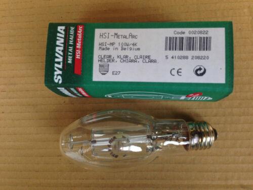 LAMPADE SYLVANIA HSI MP 100W E27 CHIARA CL//NDL 4000K 8500LM ELLISSOIDALE