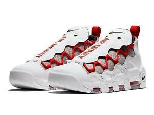 a46710c32 Nike Air More Money Shoes (White Black Habanero Red) NIB BV2520-100 ...