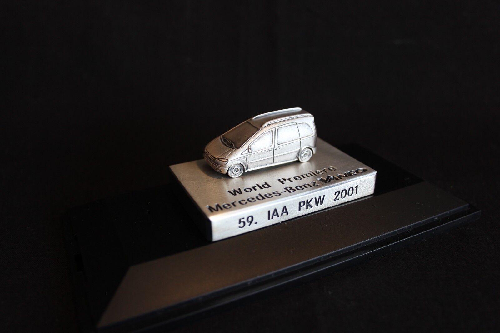 tiempo libre Herpa Mercedes-Benz Vaneo 1 87 Special edition World Premiere Premiere Premiere IAA PKW 2001 (JS)  nuevo estilo