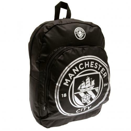 Manchester City FC Official Nylon Backpack// Rucksack