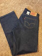 Men's VINTAGE LEVIS 501 XX 38/36 Dark Blue Button Fly Straight Leg Jeans