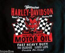 NEW HARLEY DAVIDSON MOTOR OIL T SHIRT SIZES SM, MED., LARGE, XL, XXL