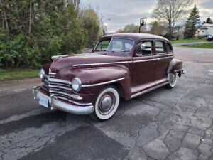 SOLD PENDING PAYMENT- 1947 Plymouth Special Deluxe