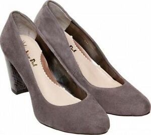 Uk Dal Storm Montering Sko Heeled Ladies Suede Van Formal Sassy Størrelse D 5 87BBqcUZw