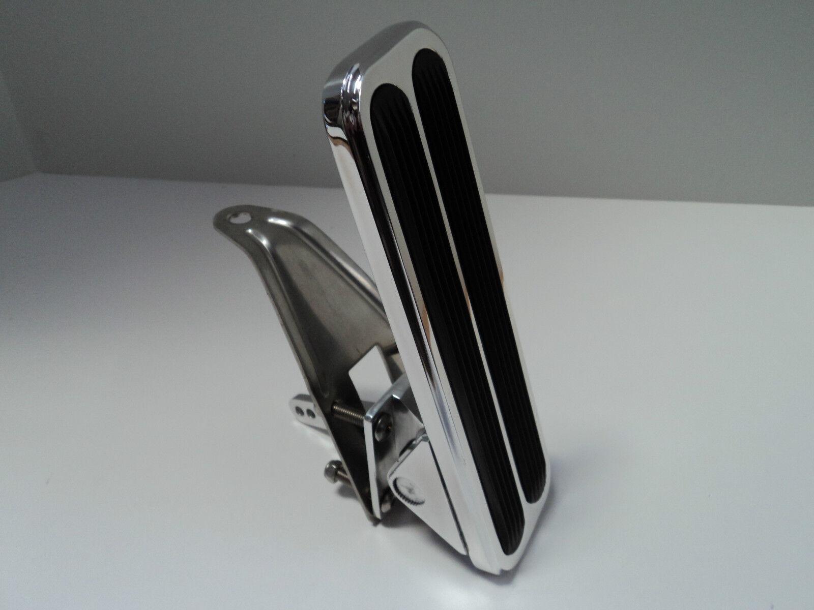 Knüppel Poliertes Aluminium Bodenmontage Gas Gaspedal Chevy Ford Ford Ford Mopar Sbc 350  | Hohe Sicherheit  c1ce9a
