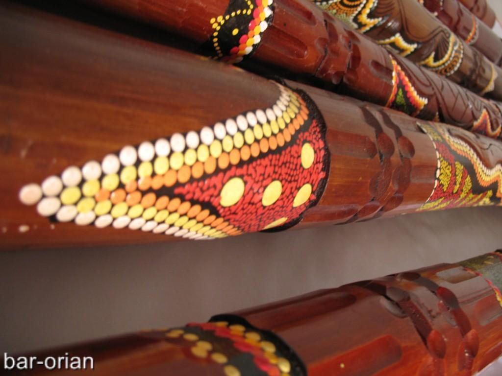 47    Lagarto Tallada a Mano Pintada aborigin Didgeridoo  envío gratuito a todo el mundo 339a53