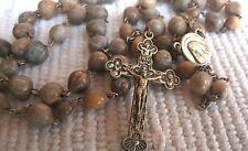 JOB'S TEARS SEED Beads UNIQE HANDMADE Rosary from Medjugorje 22.4 inc