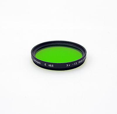 Heliopan 40.5mm Green 13 Filter. Brand New Stock.