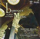 Empire Brass-various Baroque Music for Brass and Organ-sacd Telarc