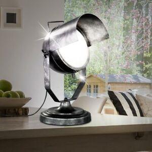 Retro DEL Lampe de table studio photo Projecteur Pivotant RGB Télécommande Spot