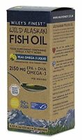 Wiley's Finest Wild Alaskan Fish Oil Peak Omega 3 2150mg 125ml