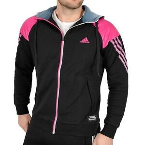 Adidas Herren Sweatjacke Trainingsjacke Kapuzen Jacke Hoodie