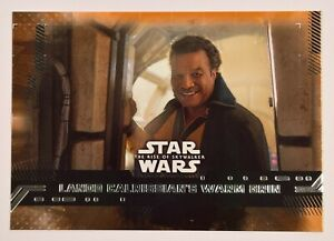 CARDS # 1-99 STAR WARS : THE RISE OF SKYWALKER RED PARALLEL PICK