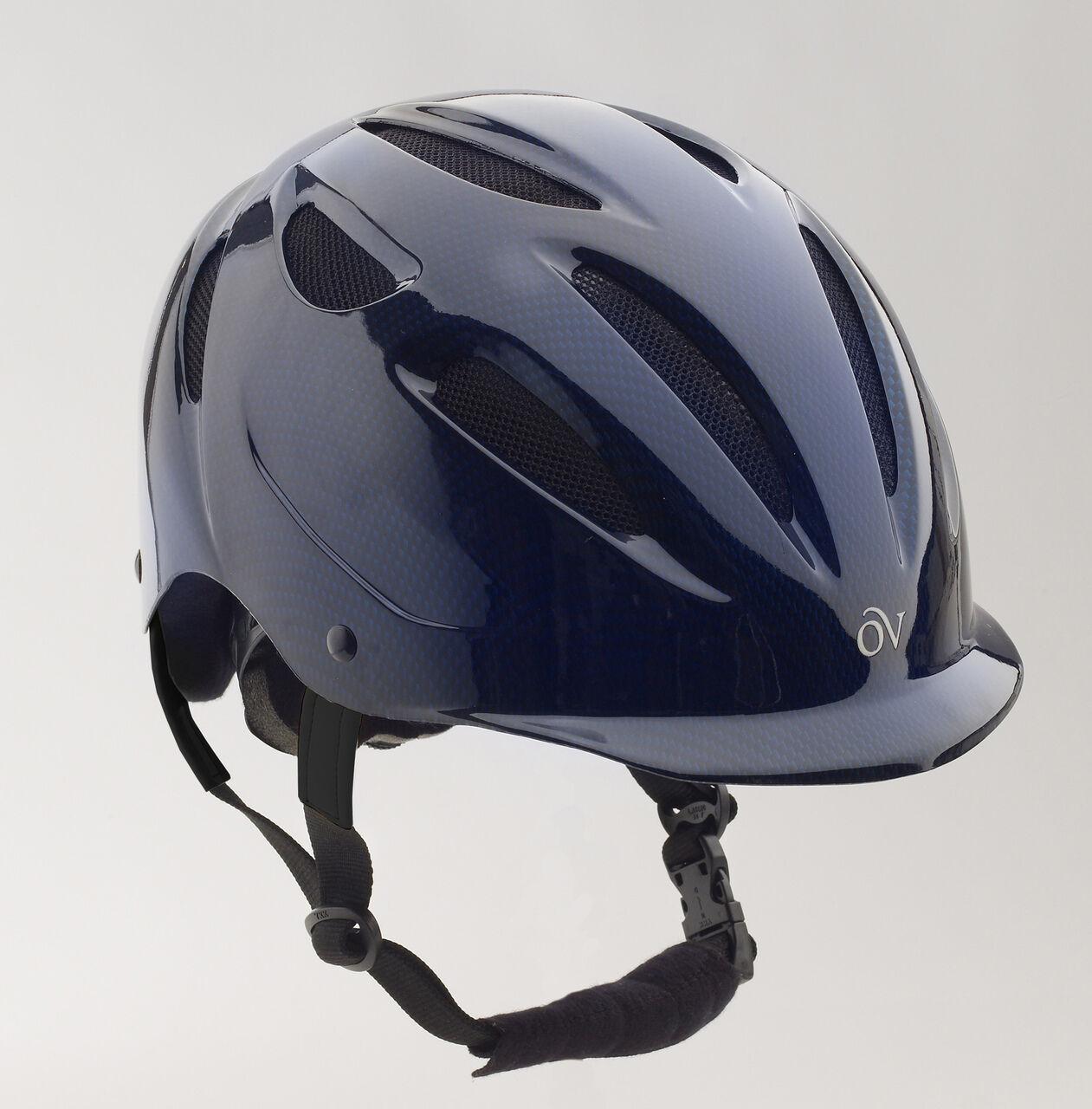 Ovation projoege Equitación  Casco-Ajustable-Azul Marino  para barato