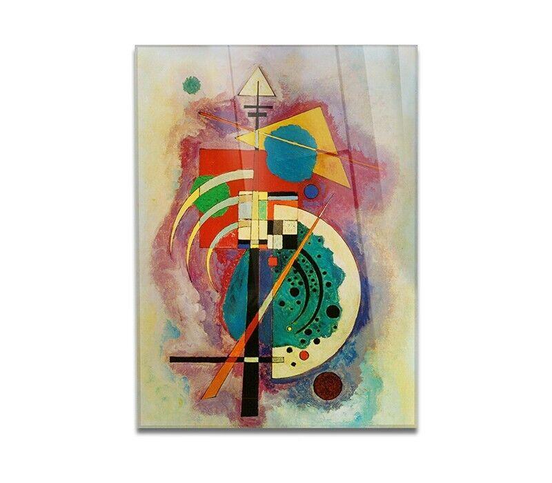 Impression sur verre acrylique en plexiglas - Wassily Kandinsky - Hommage à Will