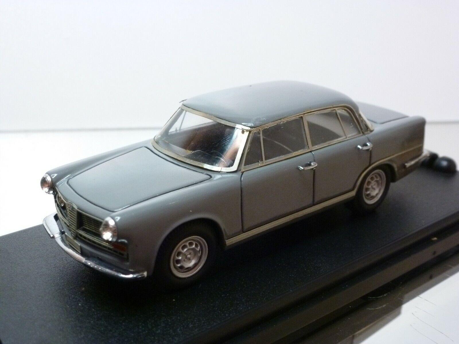KLAXON GAMMA ALFA ROMEO 2600 BERLINA 1962 - grau 1 43 - GOOD CONDITION IN BOX