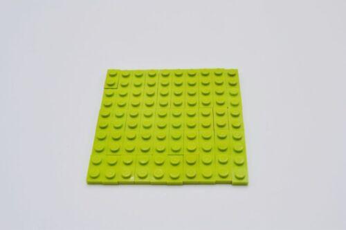 LEGO 50 x Basisplatte lindgrün Lime Basic Plate 1x2 3023 4164037