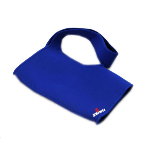 Blue Single Shoulder Protection Brace Guard Support Sports Gym Protect Muscle