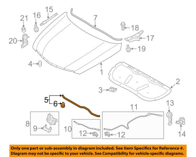 Hood compatible with Hyundai Sonata 11-15