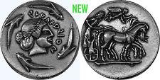 "Poseidon, God of the Sea, ""Earth Shaker"" coin, (#82-S) 27 mm, 10 g,"