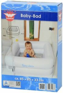 Wehncke-Baby-Watch-Bad-Pool-Swimming-Pool-fuer-Duschwanne-Verpackung-Beschaedigt