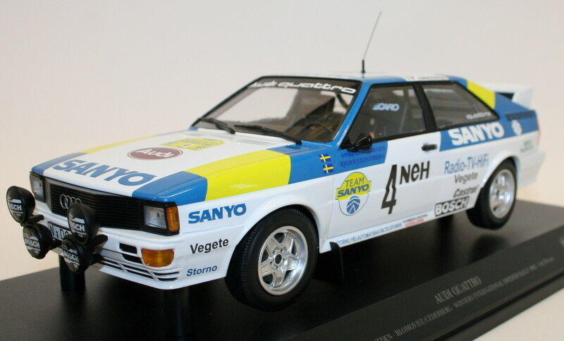 Minichamps 1 18 Diecast 155 821105 Audi Quattro Sport Blomqvist Swedish Rally 82