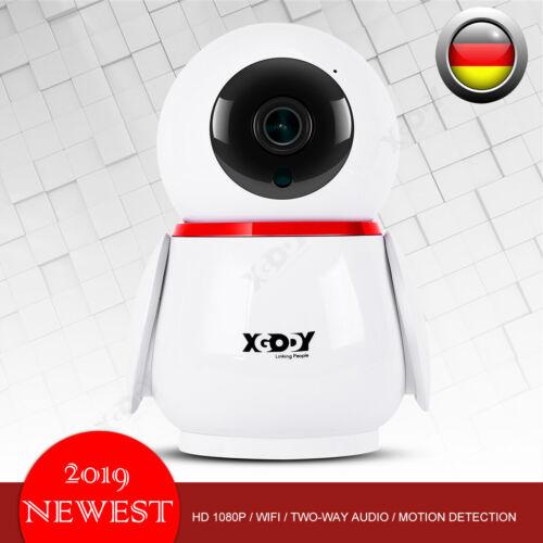 1080P HD IP Netzwerk Camera Außen Überwachungskamera Indoor CCTV Nachtsicht DE