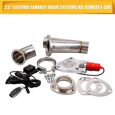 3 Zoll Auto Ventil Elektrisch Edelstahl Auspuff Fernbedienung Ausschnitte Cutout