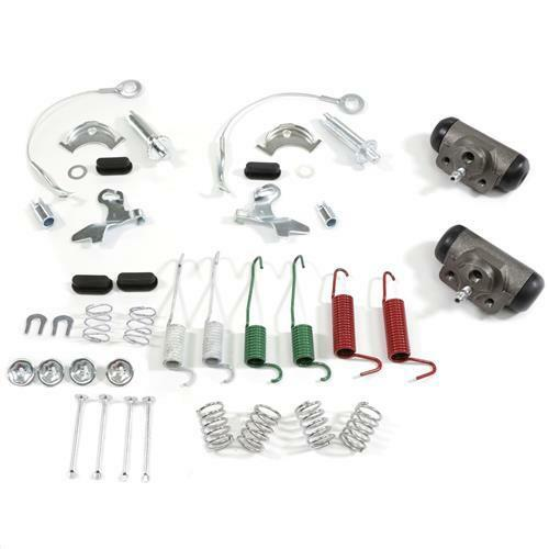 80-93 FORD MUSTANG CENTRIC DRUM BRAKE REBUILD KIT W//O REAR SHOES $HUGE FOX SALE!