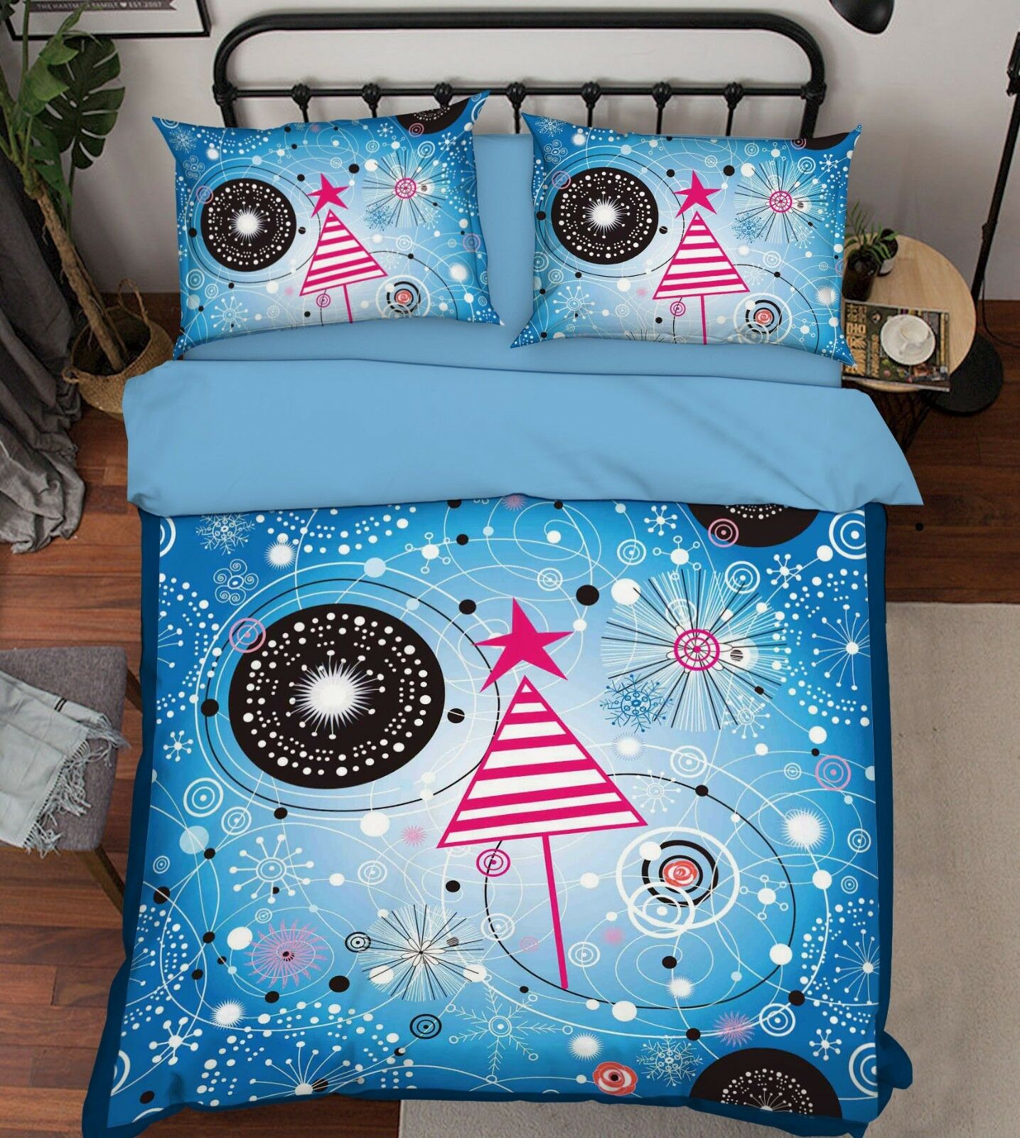 3D Cartoon Pattern 52 Bed Pillowcases Quilt Duvet Cover Set Single Queen King AU